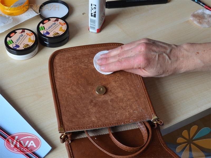 Новая жизнь для сумки: Шаг 3