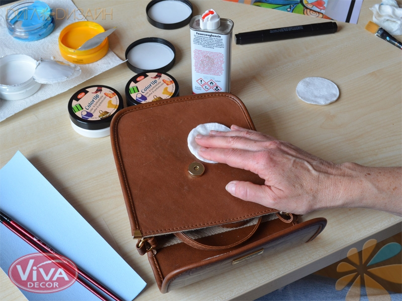Новая жизнь для сумки: Шаг 1