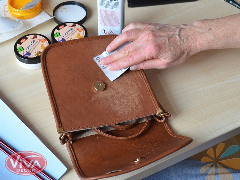 Новая жизнь для сумки: Шаг 2